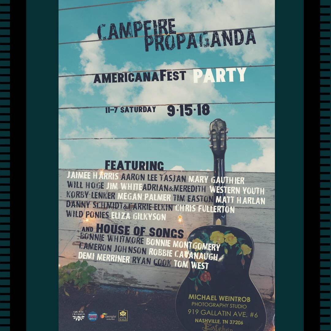 CAMPFIRE PROPAGANDA AMERICANA DAY PARTY